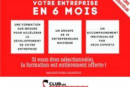 Club des Entrepreneurs – recrutement promo 2020_2021